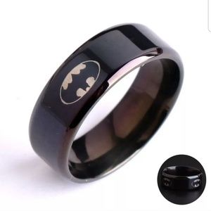 Stainless steel Black Batman